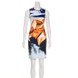 New! CLOVER CANYON Multicolor Printed Dress